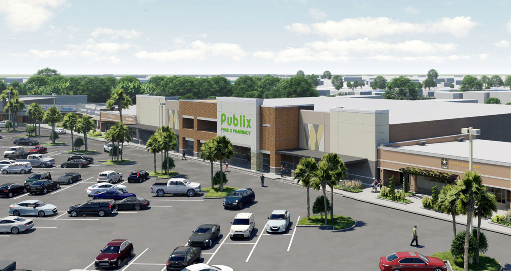 InvenTrust Properties Corp. to Redevelop 93,358-Square-Foot Suncrest Village Shopping Center in Orlando